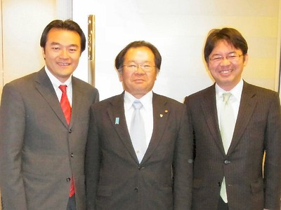 大岡さん上野さんと共に
