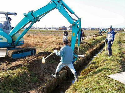 排水路法面補修2