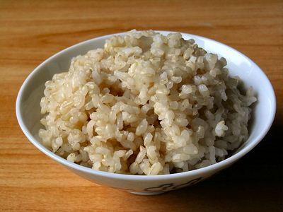 発芽玄米の炊飯