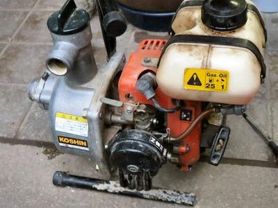 エンジンポンプの修理