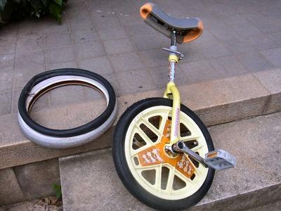 一輪車の修理