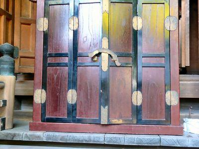 春日神社本殿改修時撮影されたもの1