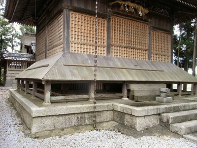 神社の台風対策