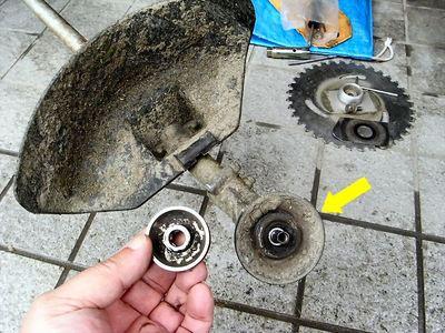 草刈機の修理