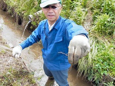 農業排水路泥上げ3