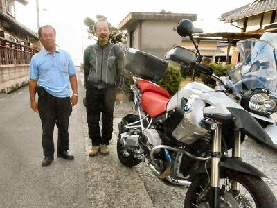 京都からバイクで