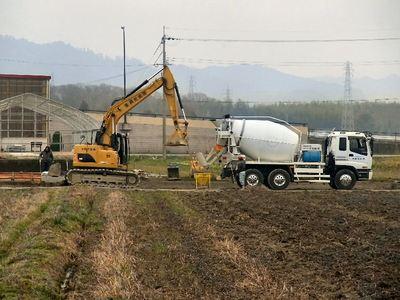 排水路の改修1