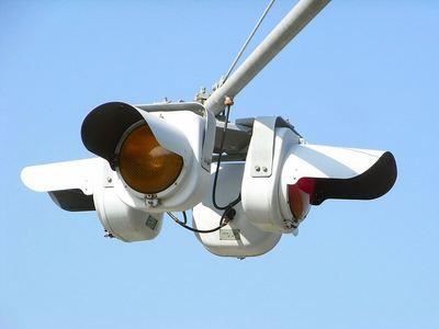 4方向一体型1灯点滅灯器