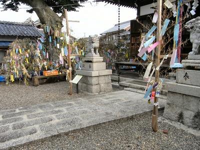 大量の笹飾り