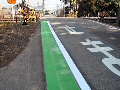 通学路のグリーンライン