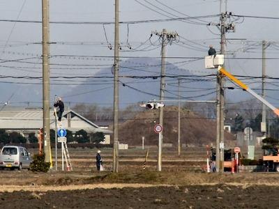 防犯灯の電気工事