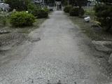 町道舗装工事前