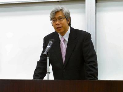 齋藤修教授