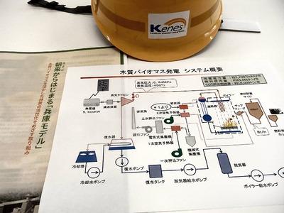 木質バイオマス発電 システム概要