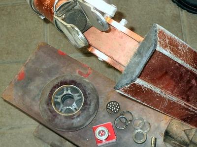 キックボードの修理