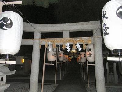 夜の春日神社