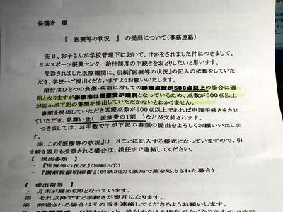 日本スポーツ振興センター給付制度