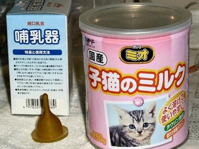猫のミルク