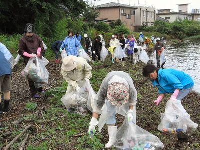 湖岸清掃2