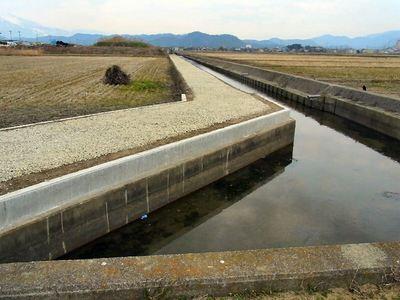 寺川の改修