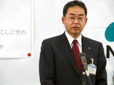 来賓湖北農業農村振興事務所長の高坂正規氏