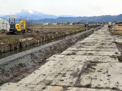 寺川水路改修2