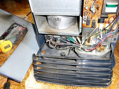 ファンヒーター修理