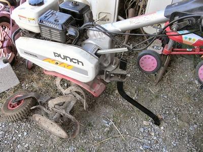 耕運機の部品装着