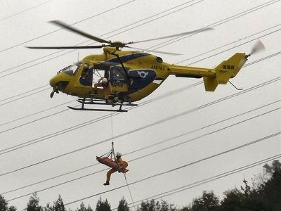 防災ヘリコプター