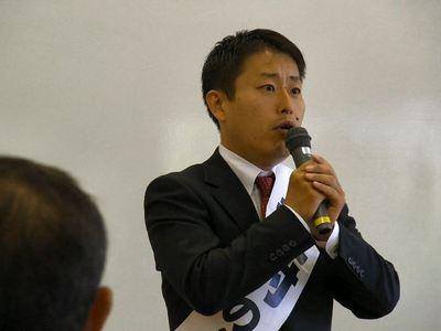武村のぶひで参議院議員立候補予定者