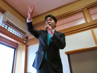 上野代議士
