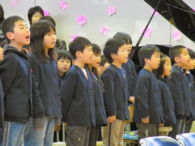 在校生合唱