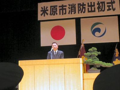 赤堀滋賀県議会議長