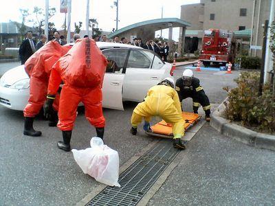 硫化水素ガス発生事故対応