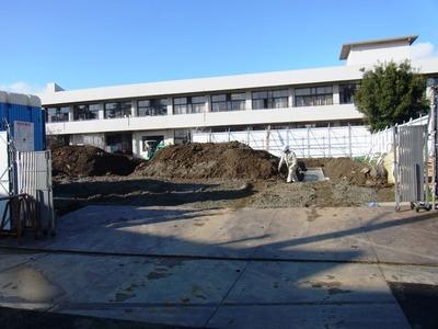 坂田小学校校舎増築工事