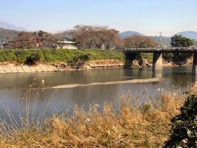 天野川新庄橋付近