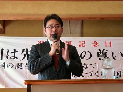 上野賢一郎氏