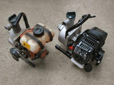 エンジンポンプの新調