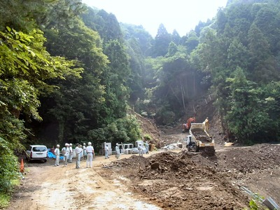 林道災害復旧工事