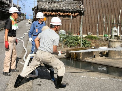 消火栓訓練