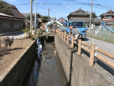 排水路浚渫