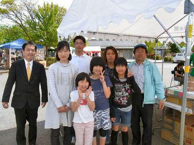 武村のぶひで氏と記念写真