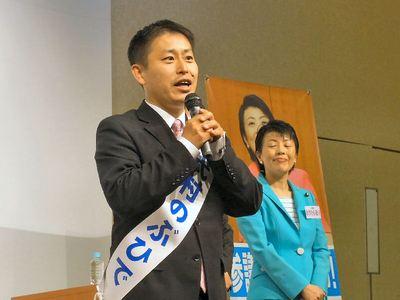 武村のぶひで候補