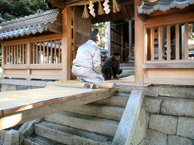 春日神社渡り廊下