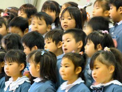 ふたば幼稚園卒園式2