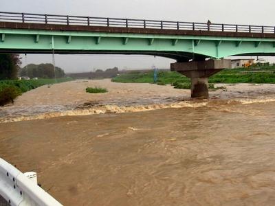今朝の天野川