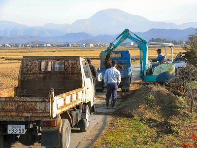 排水路法面補修3
