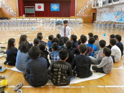 授業参観6年生