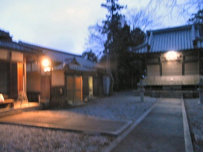 未明の春日神社
