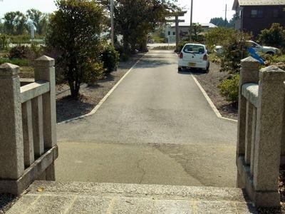 蛭子神社参道合成写真